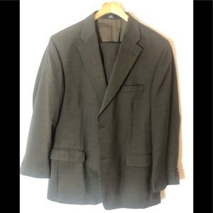 Haggar Black label olive green jacket only 44L
